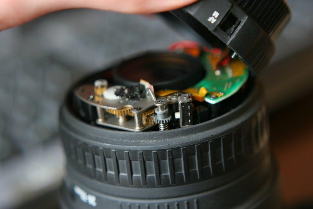 LENS Aperture Flex Cable For SIGMA 24-70mm f//2.8 EX DG (Canon Connector)Type A
