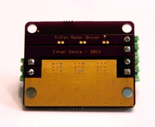 TriFet Motor Driver - PCB Bottom
