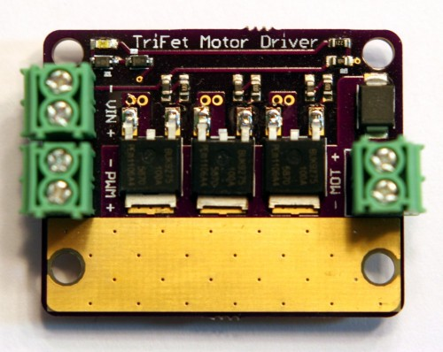 TriFet Motor Driver - PCB Top