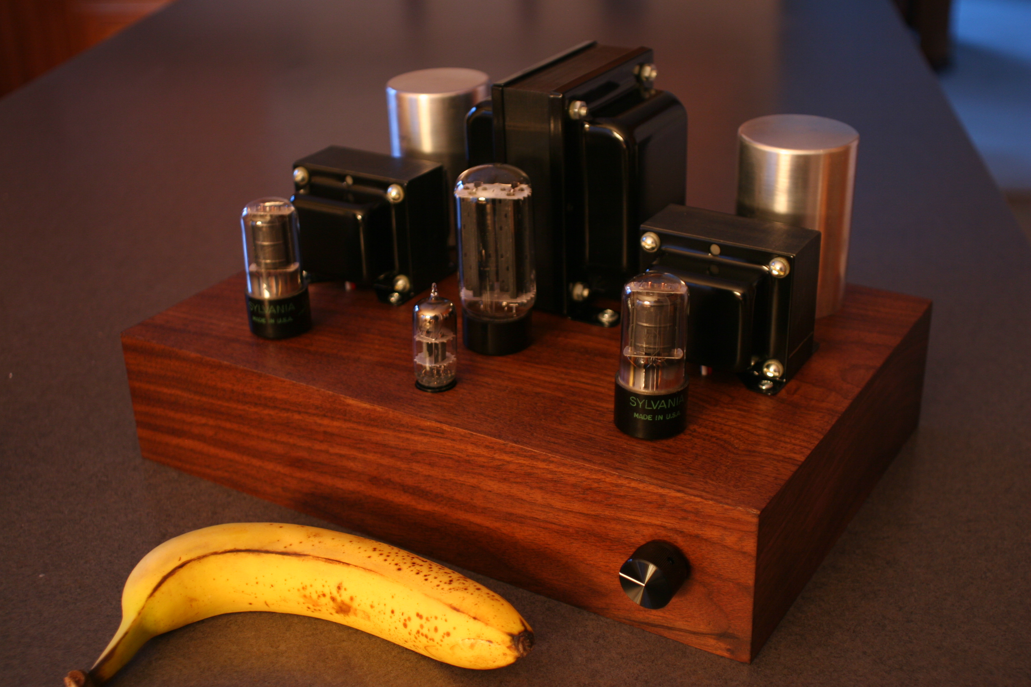 Diy Amplifier Banana For Scale