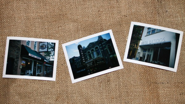 Polaroid Shots of Ann Arbor